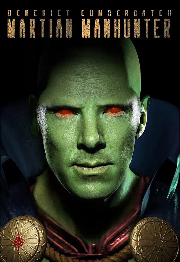 Benedict Cumberbatch Might Play Martian Manhunter in 'Justice League'