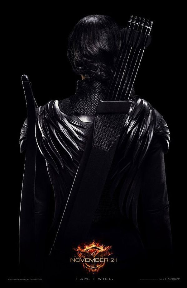 "New 'The Hunger Games: Mockingjay: Part 1' Katniss Poster: ""I am. I will"""