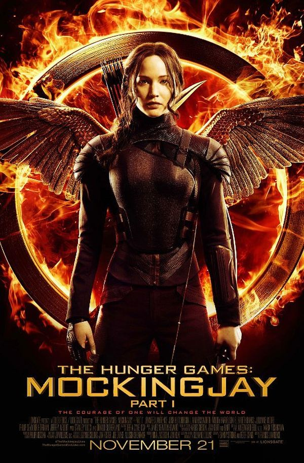 Katnis Poster and Teaser Released for 'Hunger Games: Mockingjay: Part 1′