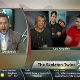 Unprepared News Reporter Gets Mocked by 'The Skeleton Twins' Actors Kristen Wiig and Bill Hader
