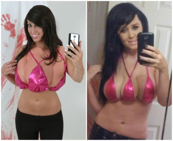 The 3-Boobed Lady Halloween Costume is a Thing Now