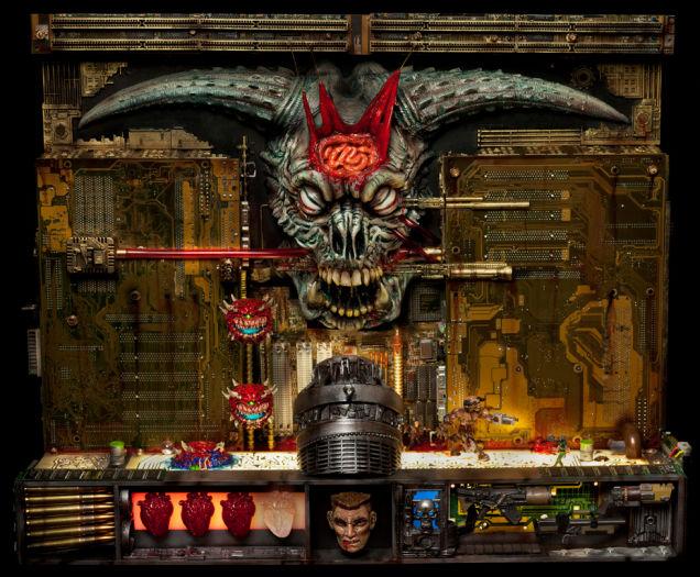 Must Have Doom II Final Level Sculpture Worth $6000