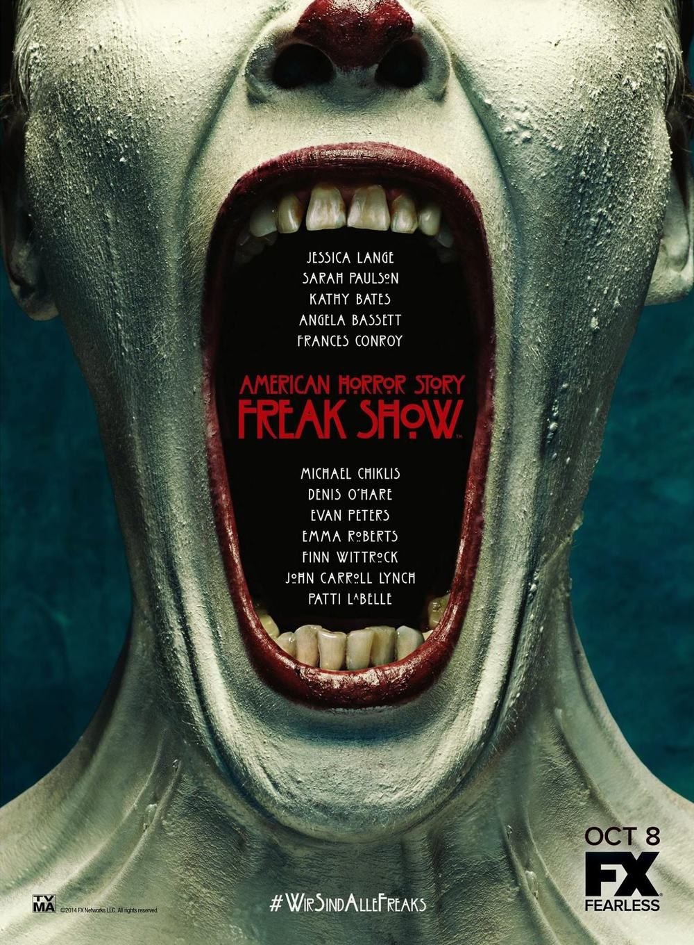 'American Horror Story: Freak Show' Debut Breaks Records, Season 5 Announced
