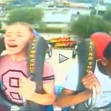 Guy Fainting On Slingshot Amusement Ride Is Priceless