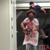 Brutal Chainsaw Massacre Halloween Prank