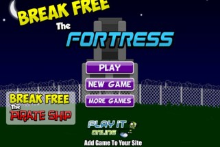 Free Online Game: Break Free Fortress
