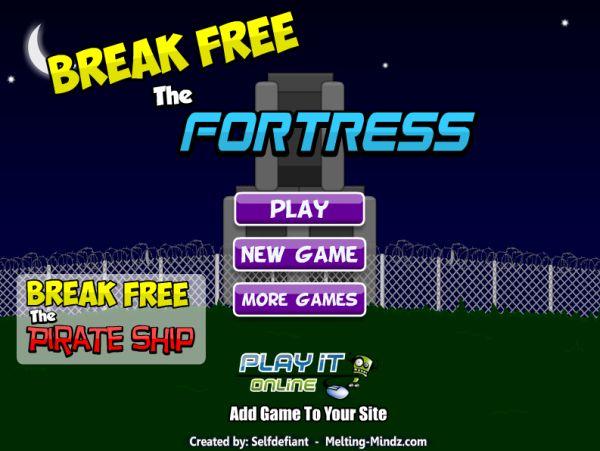 Free Online Game: Break Free Fortress