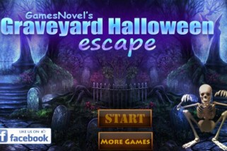 Free Online Game: Graveyard Halloween Escape