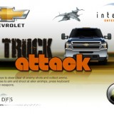 Free Online Game: Chevy Truck Attack
