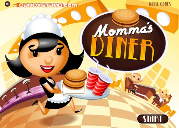 Free Online Game: Momma's Diner
