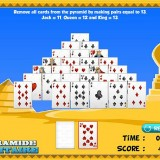 Free Online Game: Pyramid Solitaire