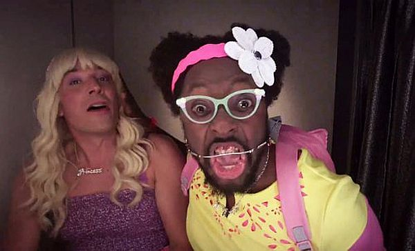 Jimmy Fallon and will.i.am Channel Their Inner Teenage Girl in 'Ew!' Music Video