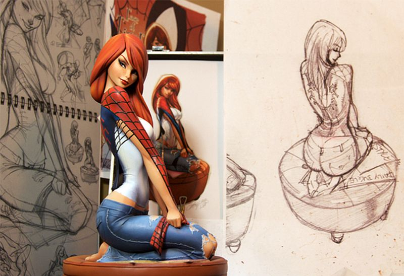 Mary Jane Watson Comiquette