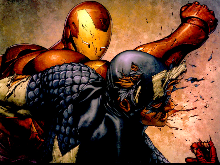 Robert Downey Jr Joins Captain America 3 in Iron Man vs Cap Civil War Storyline