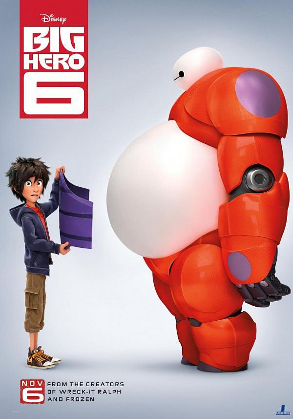 'Big Hero 6' Steals the Top Spot from 'Interstellar' At the Box Office