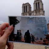 Assassins Creed Unity Paris Then Vs Paris Now