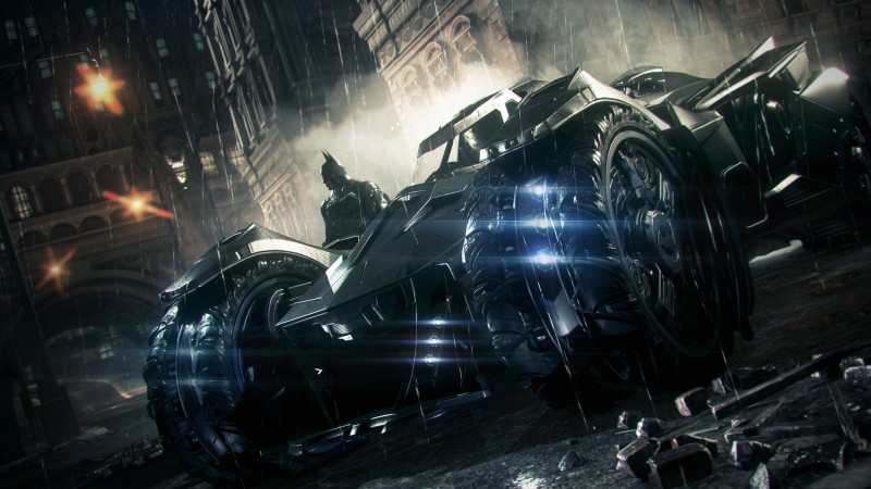 'Batman: Arkham Knight' Trailer Features Spectacular HD Batmobile Battle