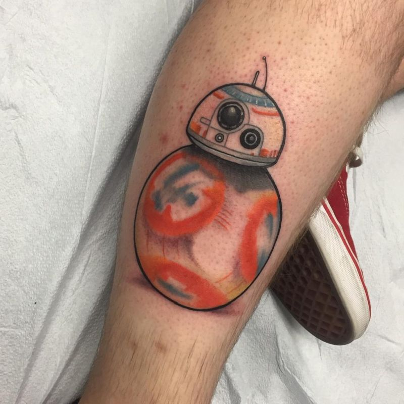 'Star Wars: The Force Awakens' Balldroid Tattoo Is Already a Thing