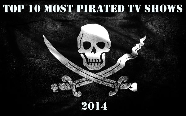 Top 10 Most Pirated TV Shows of 2014