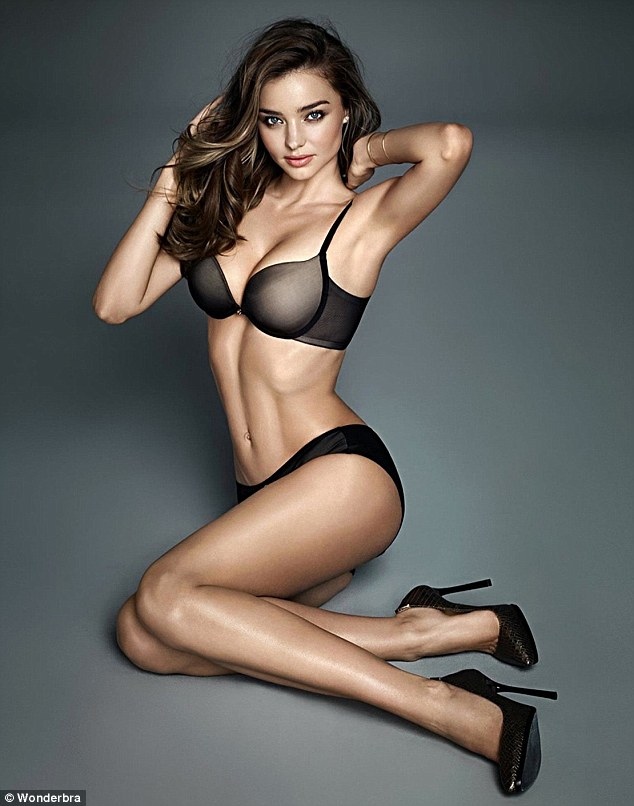 Smoking Hot New Miranda Kerr WonderBra Shoot