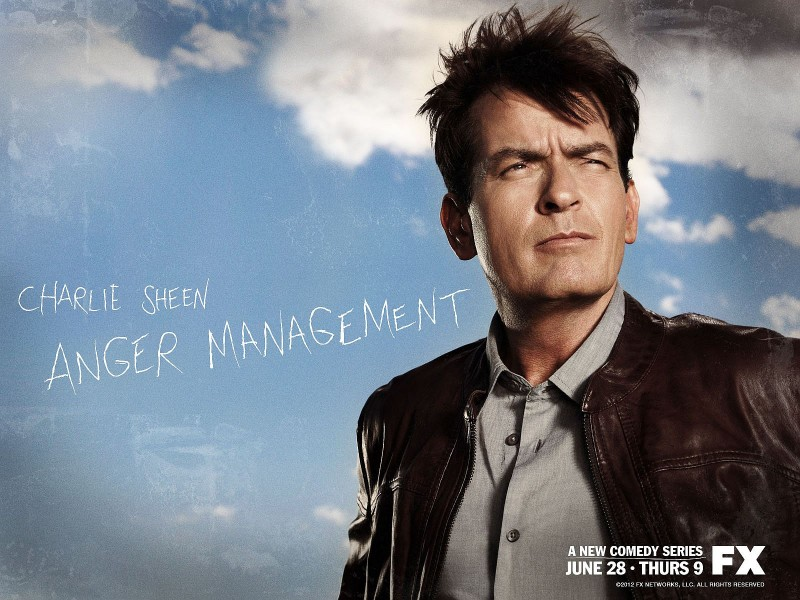 'Anger Management' wallpaper courtesy of FX