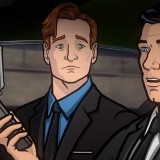 Conan's Interview with Archer is in The Danger Zone While Shooting Russian Mobsters!