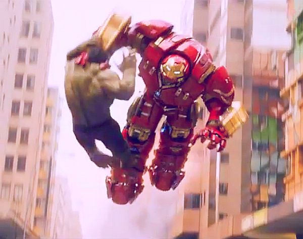 'Avengers: Age of Ultron' TV Spot: Iron Man's 'Hulkbuster' Takes Down Hulk!