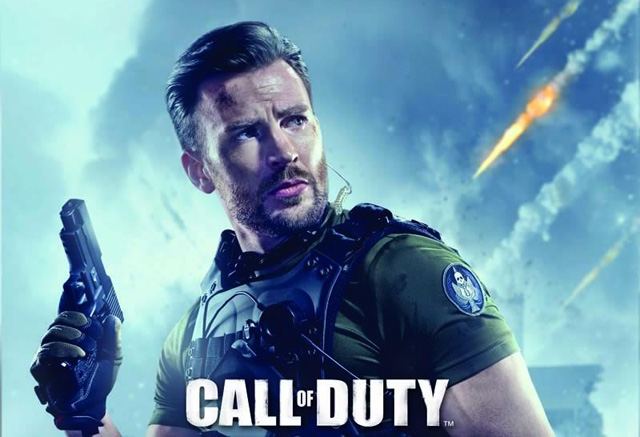 Call of Duty: Online Full Trailer Featuring Chris Evans