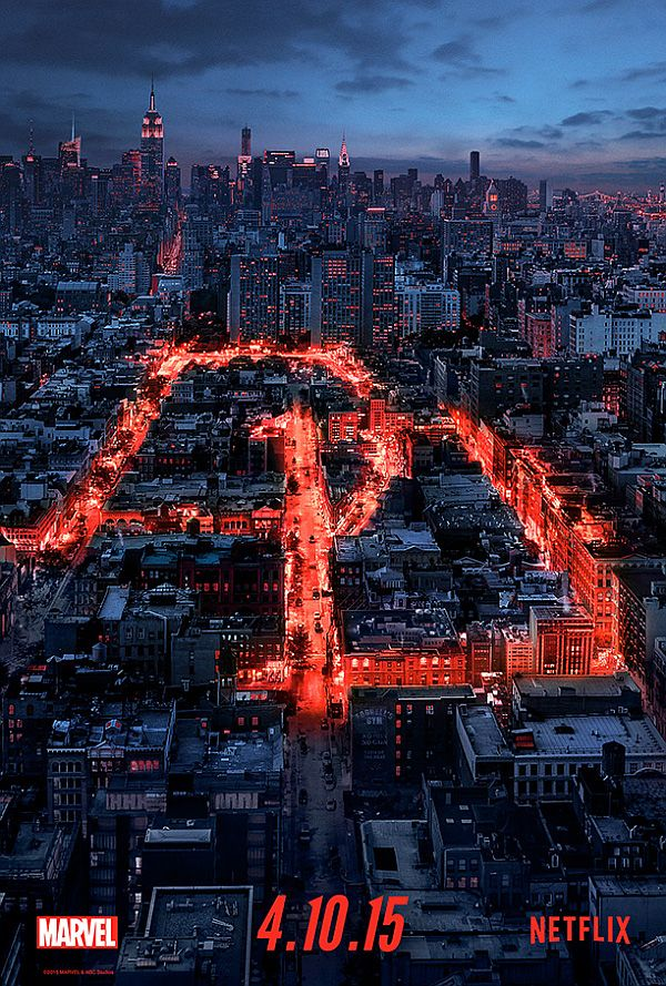 Netflix Announced Premiere Date for 'Daredevil'