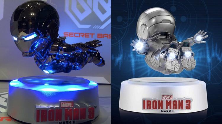 floating iron man