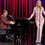 Jimmy Fallon and Gwyneth Paltrow Perform Broadway Version of Rap Songs