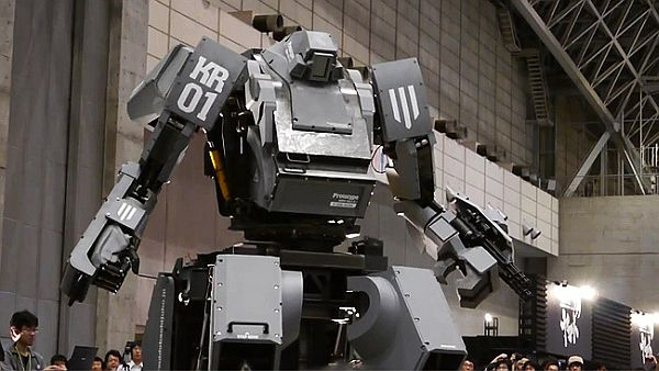 Buy Kuratas the Five-Ton Million-Dollar Japanese Robots on Amazon Today