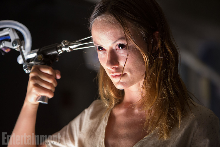 Scary Olivia Wilde In New Lazarus Effect Poster