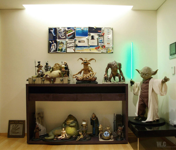Insanely Awesome Must Have Star Wars Fan Apartment