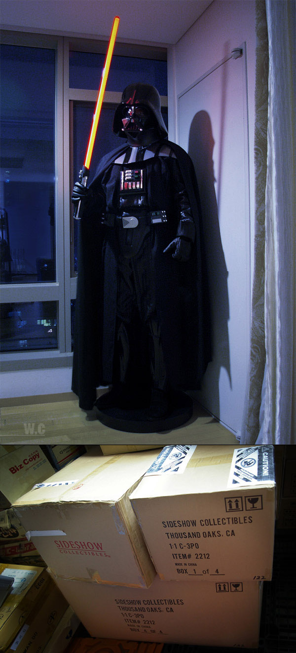 syttar wars geek apartment 9