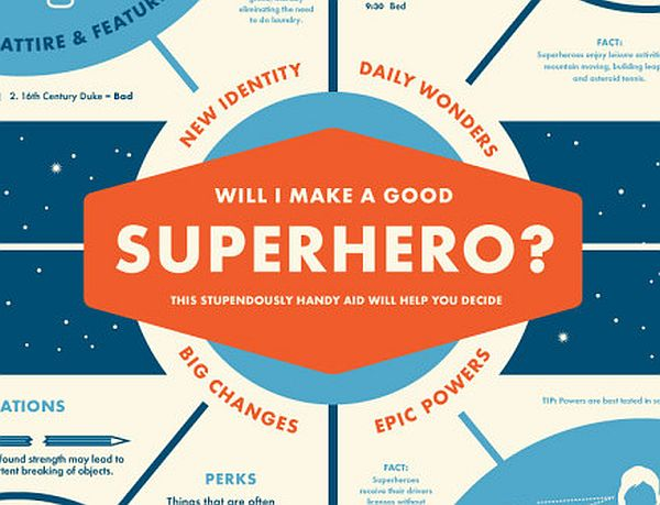 Infographic – Would You Make a Good Superhero?