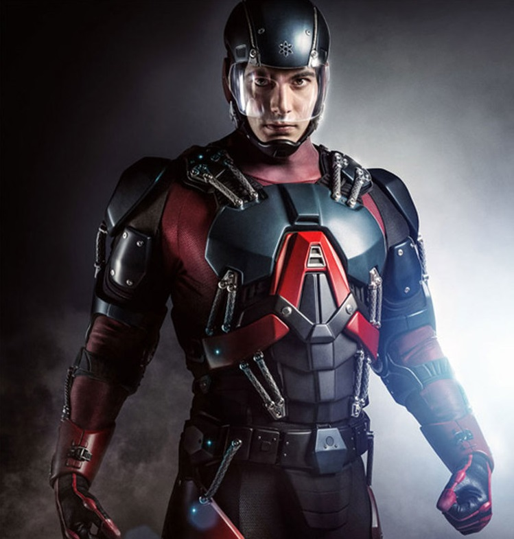 First Look At Brandon Routh As Atom In Arrow