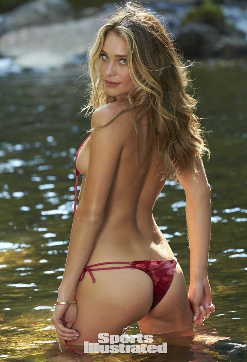 Here's The Complete Sexy Hannah Davis  2015 Sports Illustrated Swimsuit Bikini Shoot