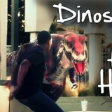 Dinosaur In The Hood Prank Scares The Hardest Players