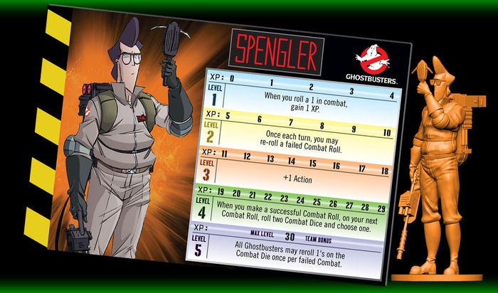 ]Egon Spengler is a wild man with his proton pack, but learns from his mistakes.