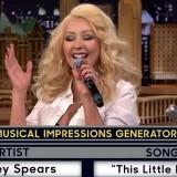 Christina Aguilera's 'Wheel of Musical Impressions' On Jimmy Fallon Hits 21 Million Views