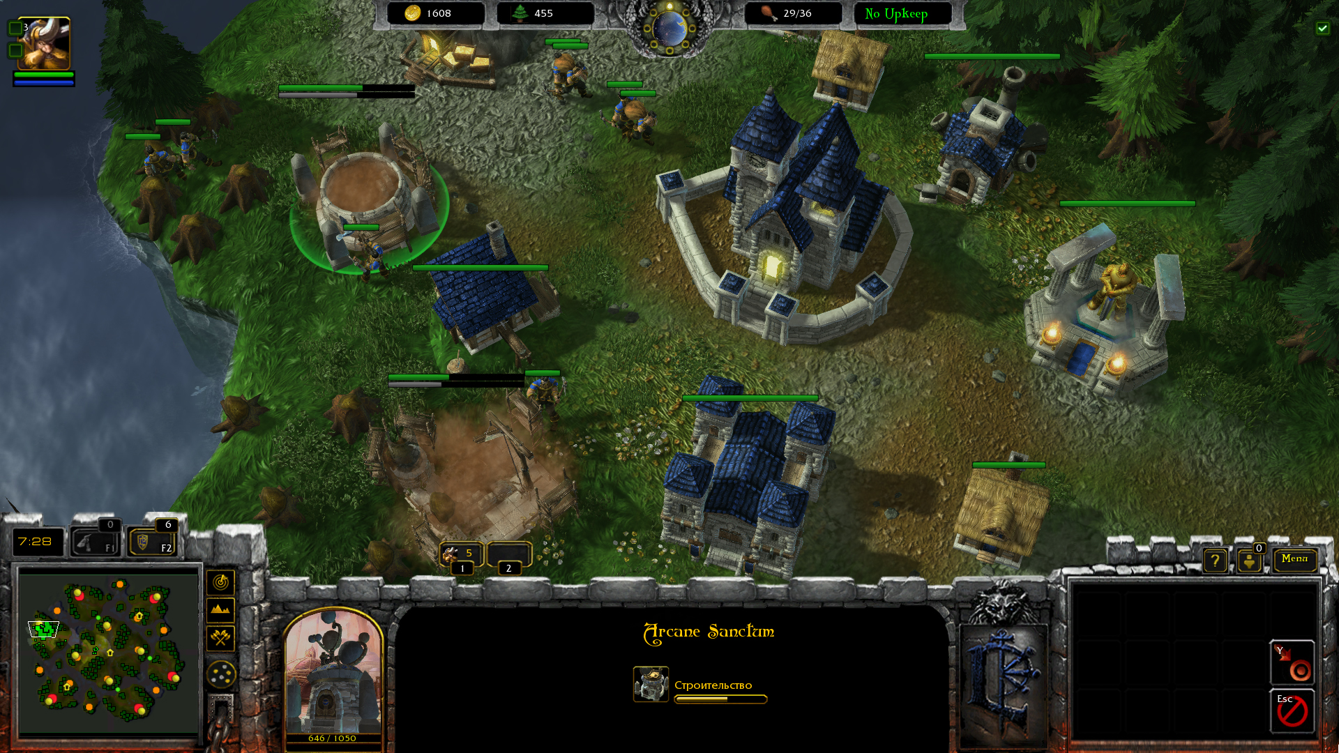 Armies of Azeroth – Warcraft 4 Strategy Game Based On Star Craft 2