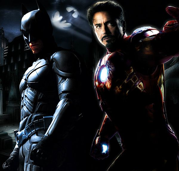 Iron Man and Batman Has a 'Fifty Shades of Grey' Inspired Mashup Trailer