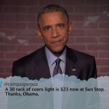 Video: President Obama Reads Mean Tweets on 'Jimmy Kimmel Live!'