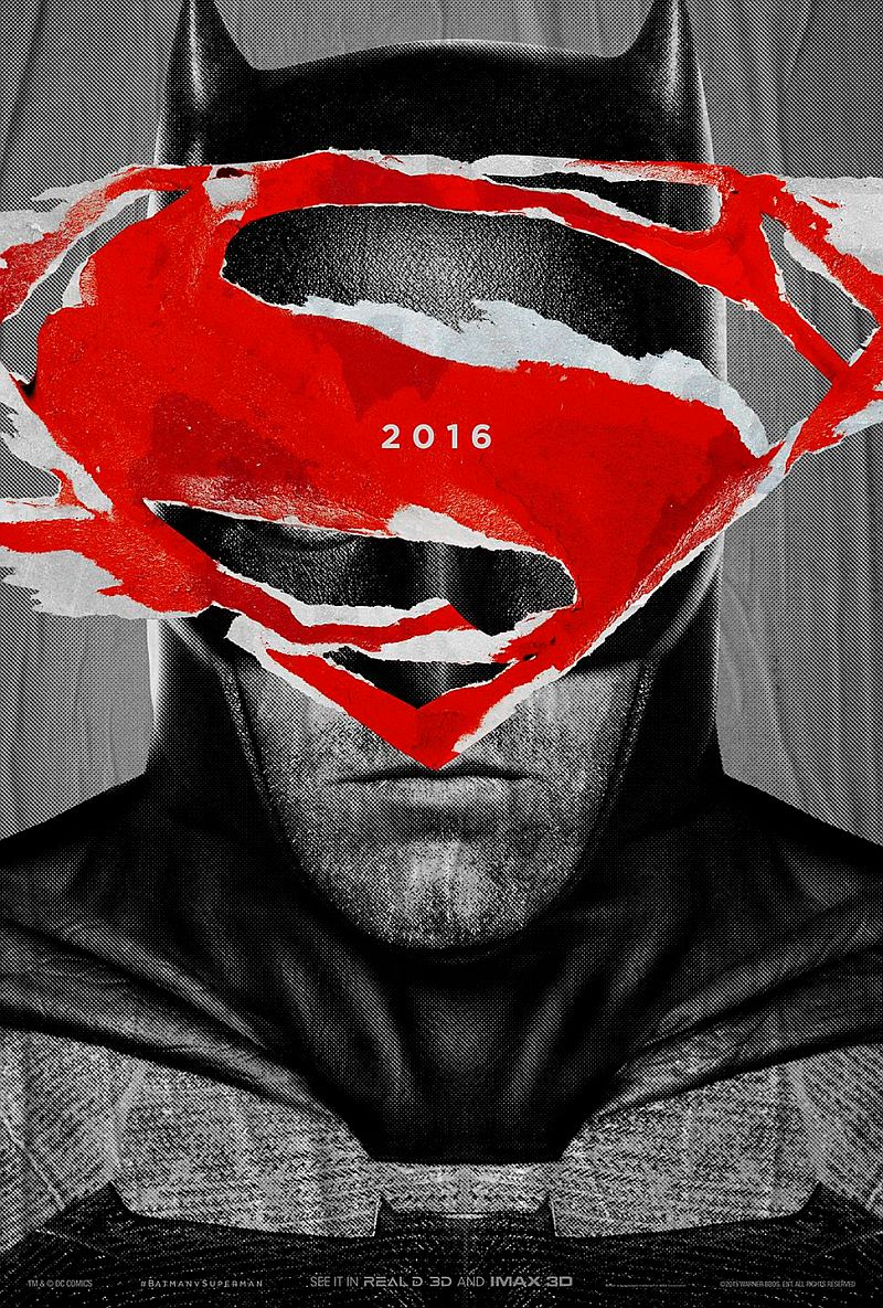 Zack Snyder Reveals Two Epic Posters for 'Batman v Superman: Dawn of Justice'