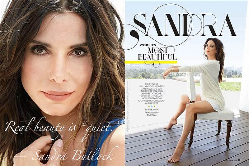 Sandra Bullock is PEOPLE's 2015 World's Most Beautiful Woman