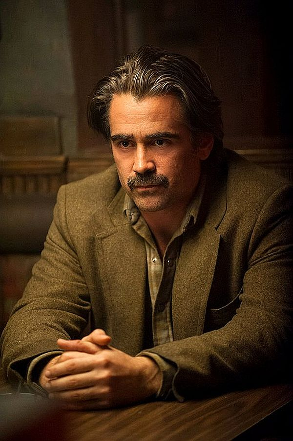 Colin Farrell is Ray Velcoro, a compromised detective in the all-industrial City of Vinci, LA County.