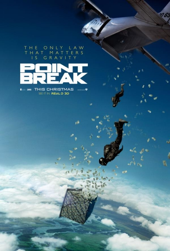 Extreme Sporting Action Packed Point Break Remake Trailer Released