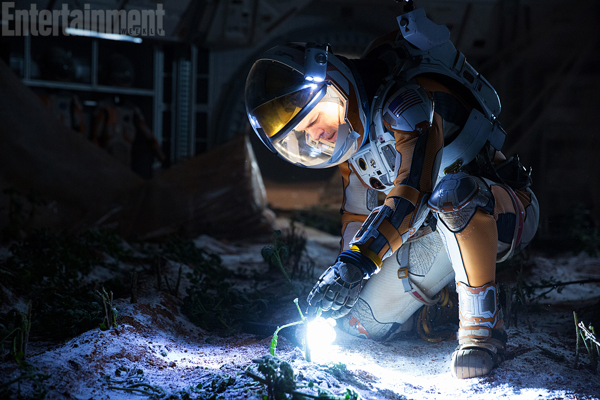 First Look At Matt Damon In Ridley Scott's The Martian