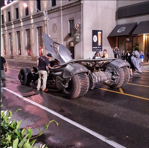 'Suicide Squad' Set photo